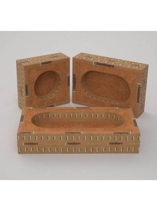 Звукоизоляционный подрозетник SoundGuard ИзоБокс 2 Премиум